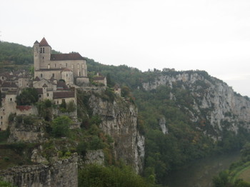 The Perched Village of St-Cirq-Lapopie in the Lot Valley