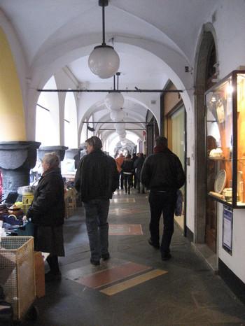Arcades in Chiavari