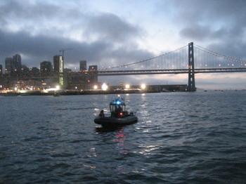 KaBooM ! Fireworks from a Coast Guard Cutter