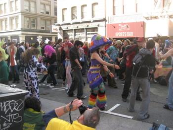 The How Weird Street Fair on Howard Street in San Francisco