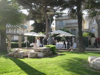 Rico & Julie's reception at Le Bastion