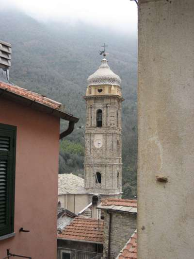 The Village of Badalucco in Liguria