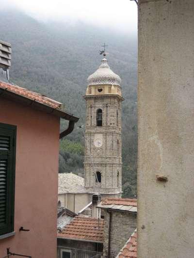 The Village of Badalucco in Liguria