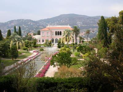 Villa Ephrussi on Cap Ferrat