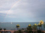 A Rainbow seen from our Terrace