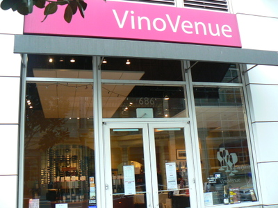 Wine Tasting Bar at Mission & 3rd in San Francisco