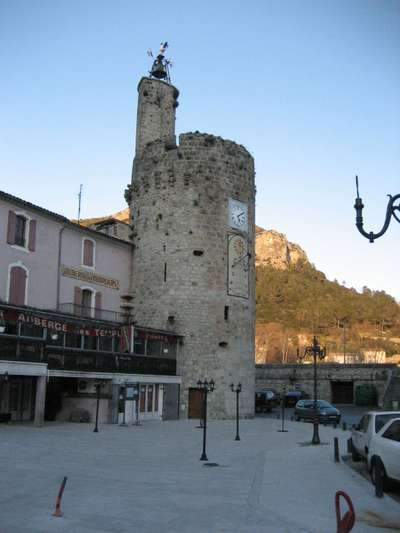 The Medieval Clock Tower in Anduze