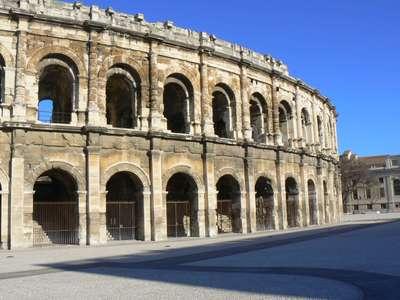 Les Arènes de Nîmes - the Roman Amphitheater