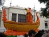A Float representing Venice's Carnivale