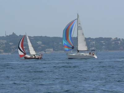 Sailing from Golf-Juan to les Îles des Lérins