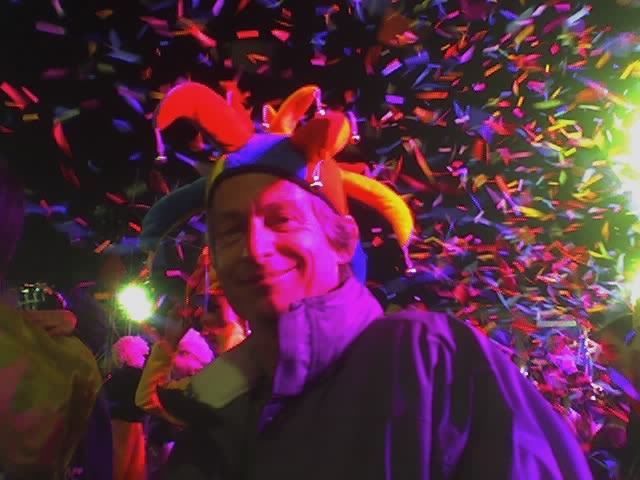 David DeMoney at the Carnaval de Nice in 2006