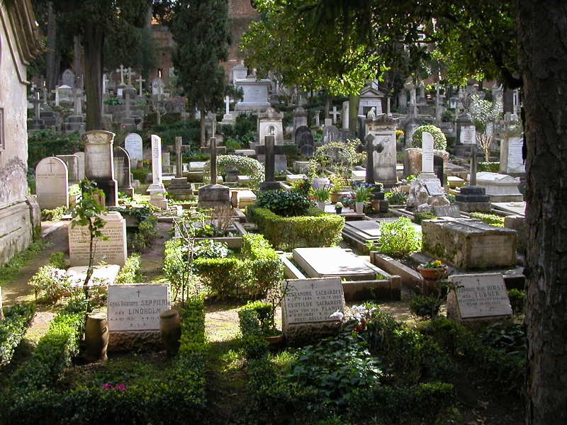 Cimitero Acattolico - The Non-Catholic Cemetery in Rome