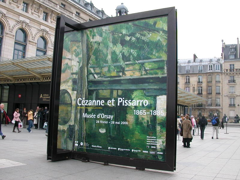 Cézanne and Pissarro at the Musée D'Orsay in Paris