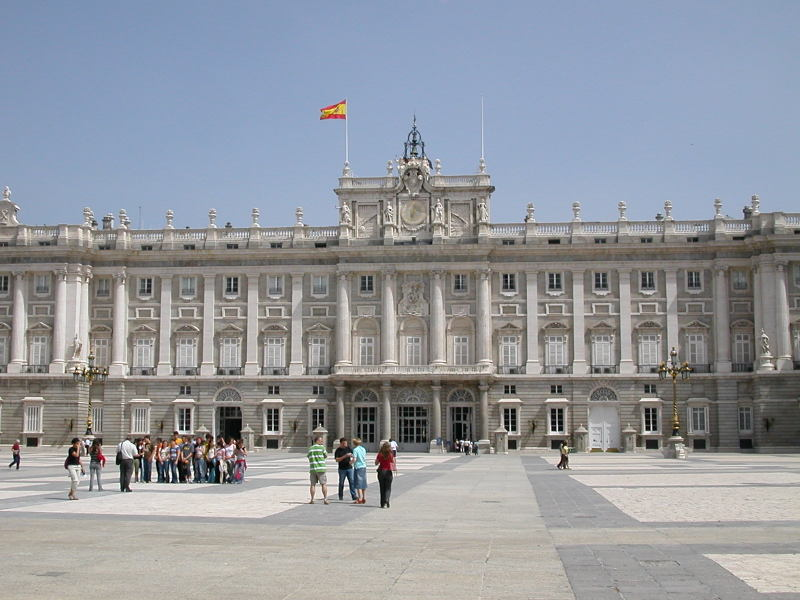 Palacio Real - The Royal Palace in Madrid