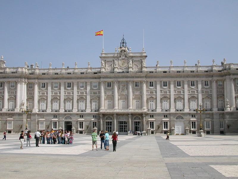 Palacio Real - The Royal Palace in Madrid