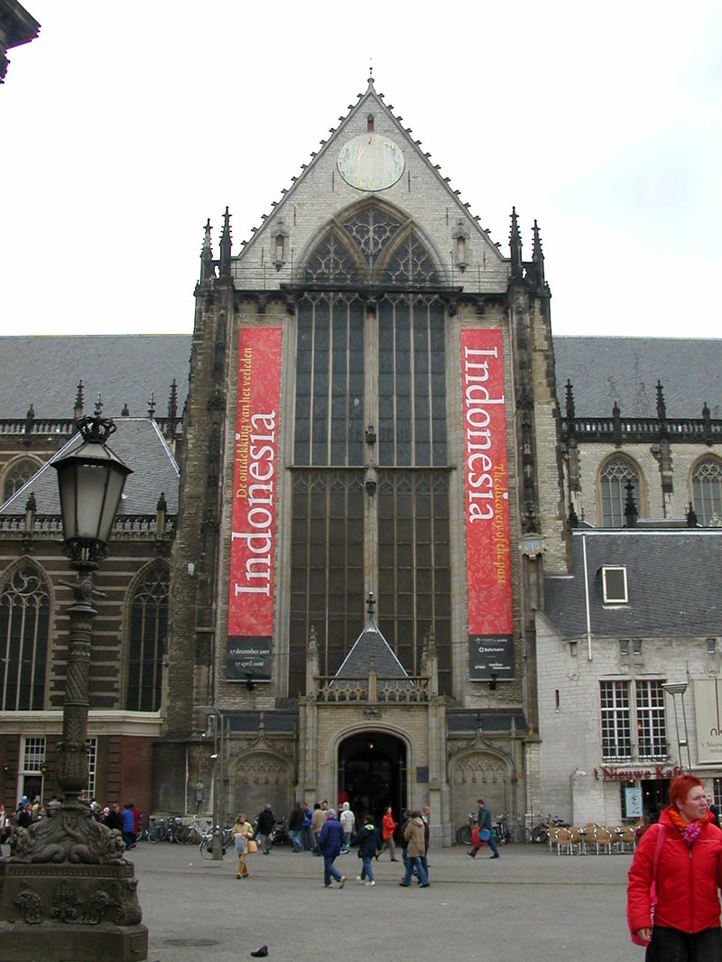 The Nieuwe Kerk (New Church) in Amsterdam