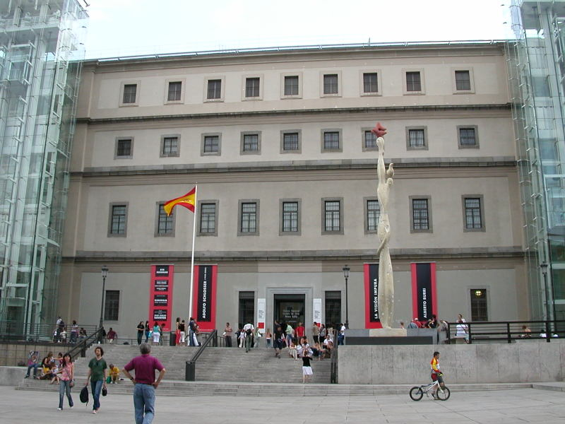 Centro de Arte Reina Sofia in Madrid