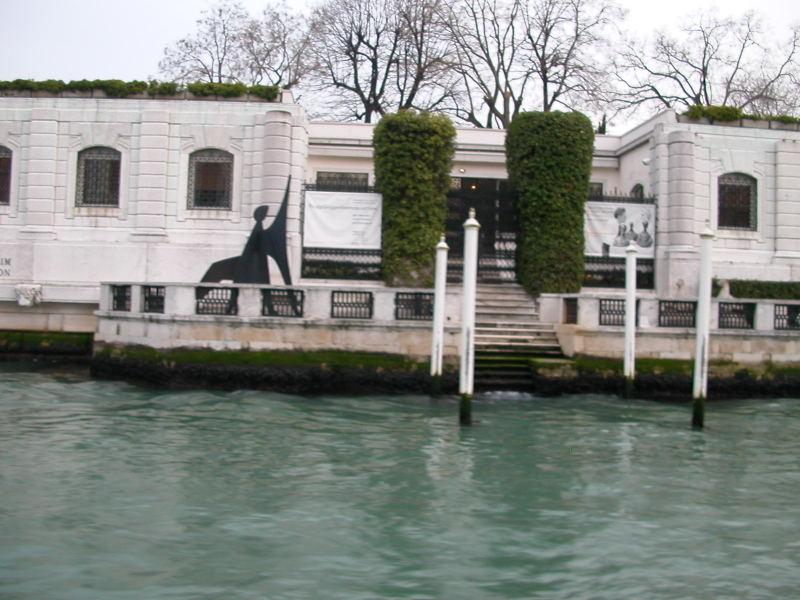 Palazzo Venier dei Leoni - the Palazzo non finito