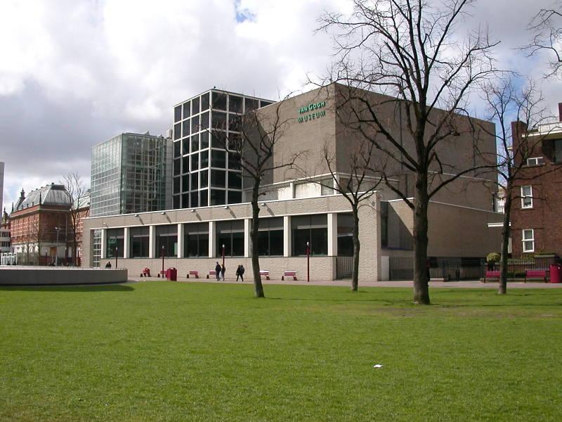 The Van Gogh Museum in Amsterdam
