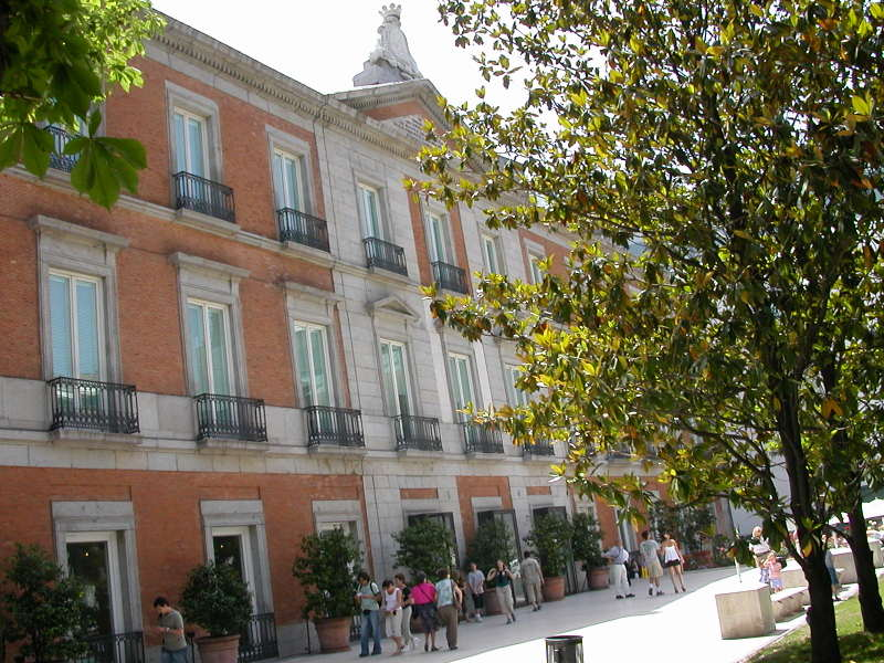 Palacio de Villahermosa in Madrid