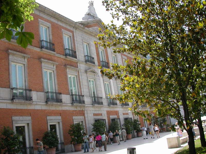 Palacio de Villahermosa in Madrid