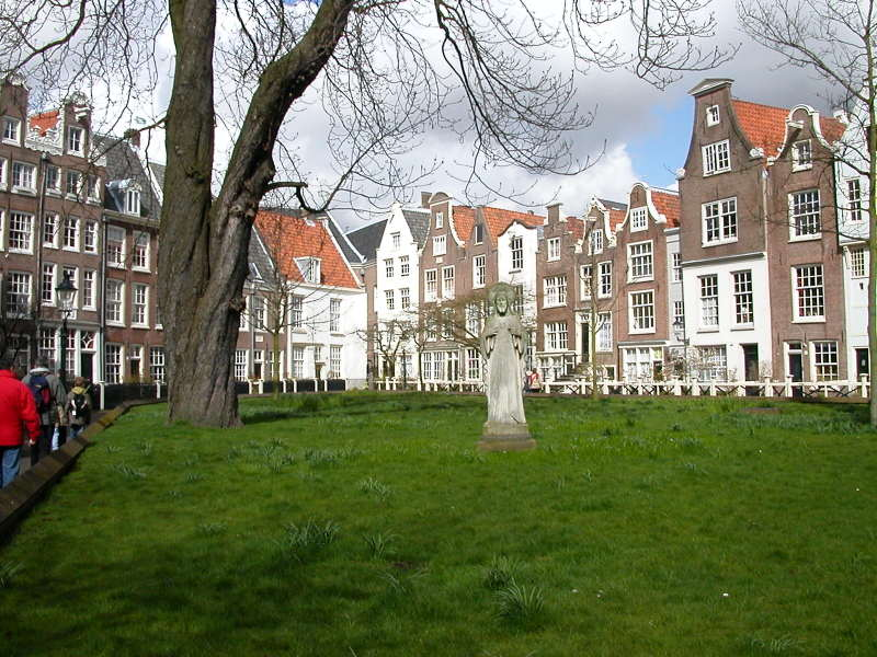 The Begijnhof in Amsterdam
