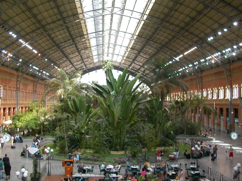 Atocha Station - Madrid's Main Train Station