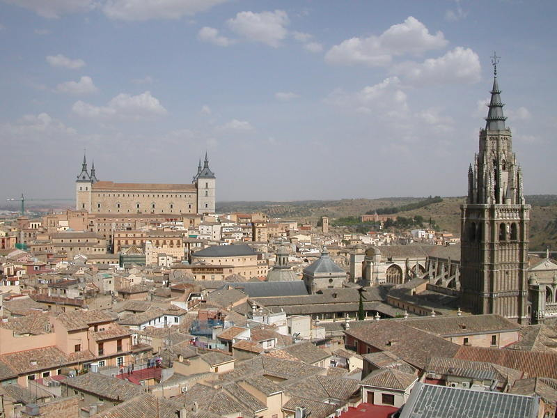 The Alcázar from one of the Bell Towers of the Iglesia de los Jesuitas