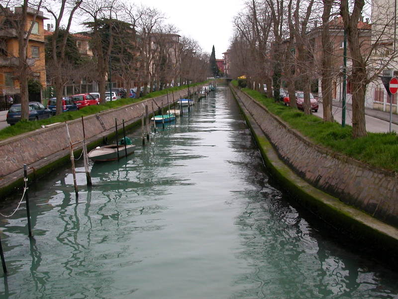 A Serene Canal in Lido
