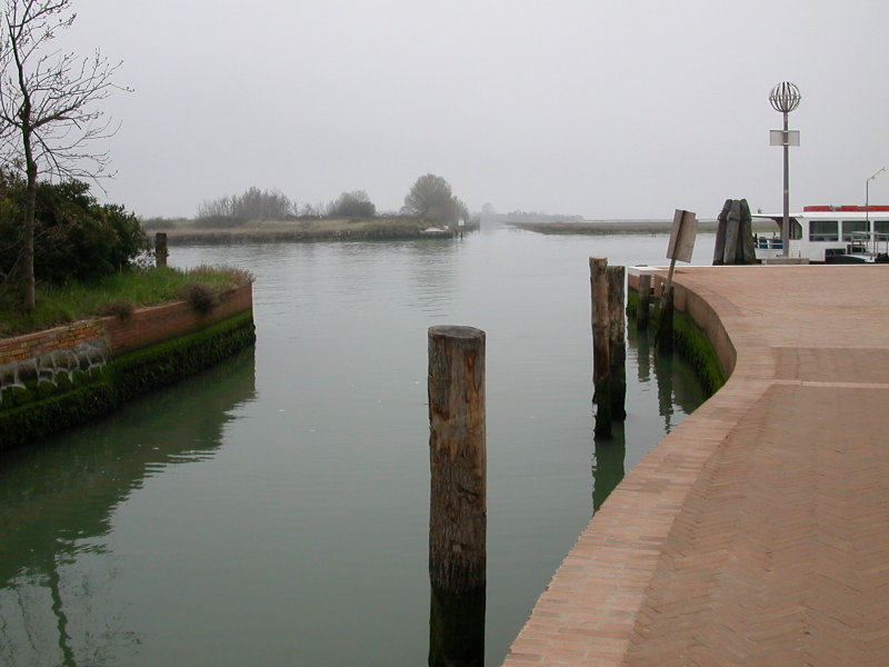 The Vaporetto Station at Torcello