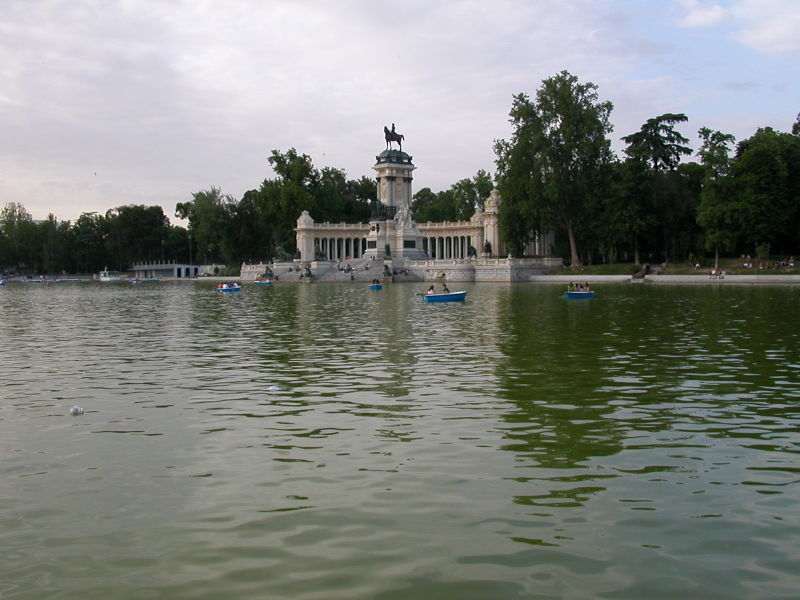 Parque del Retiro in Madrid