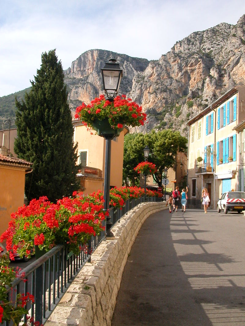 The Village of Moustiers-Ste-Marie