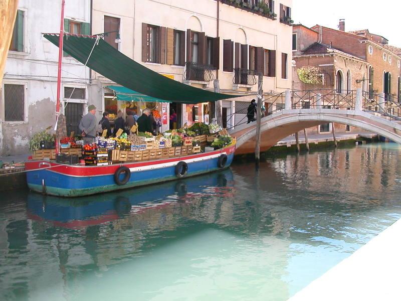 Morning Market in Venice