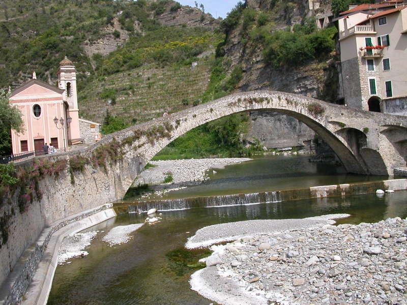 Il Ponte Vecchio in Dolceacqua, Italy