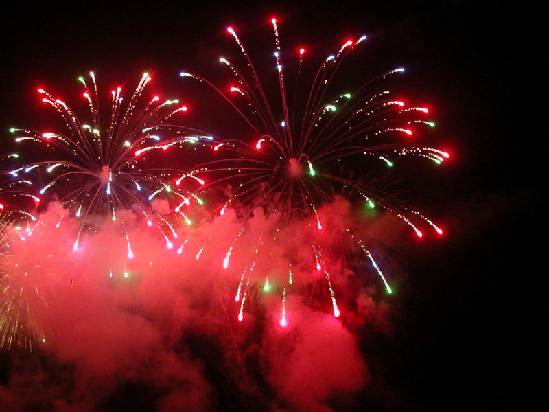 Cannes Fireworks Festival - Great Britain's Entry in 2005