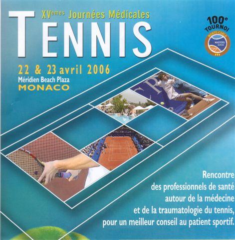 The Brochure for Les Journées Médicales in Monaco [Photo by Monique Widemann]