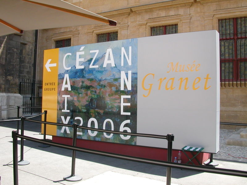 Cézanne Exhibition in Aix-en-Provence