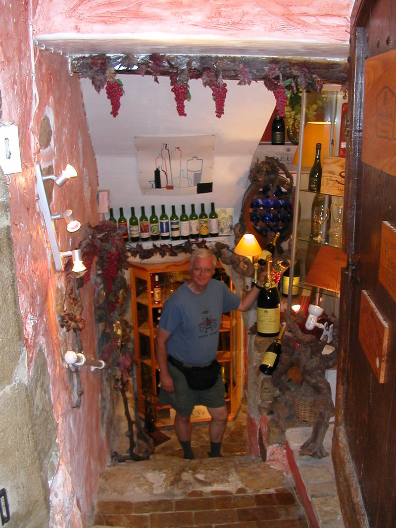 Cave de Vins in St-Paul-de-Vence