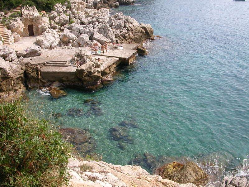 Swimming on Cap Ferrat