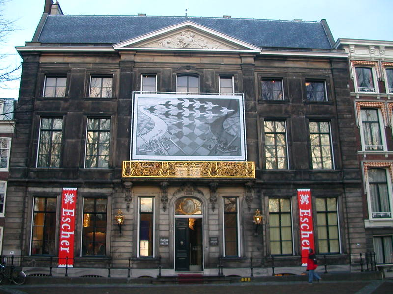 The Escher Museum in the Lange Voorhout Palace in Den Haag