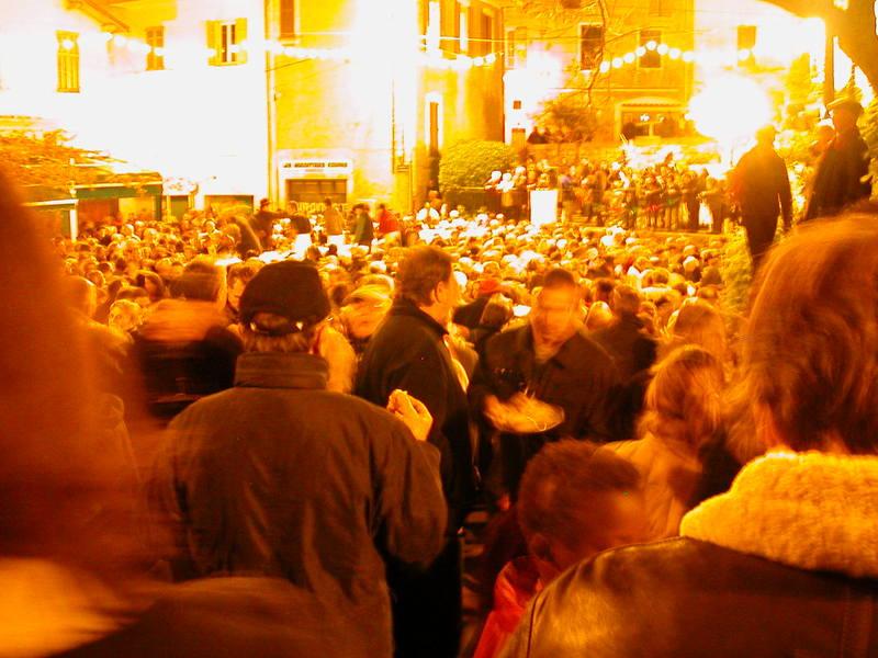 La Fête de la Bûche de Noël at the Place du Safranier-2005