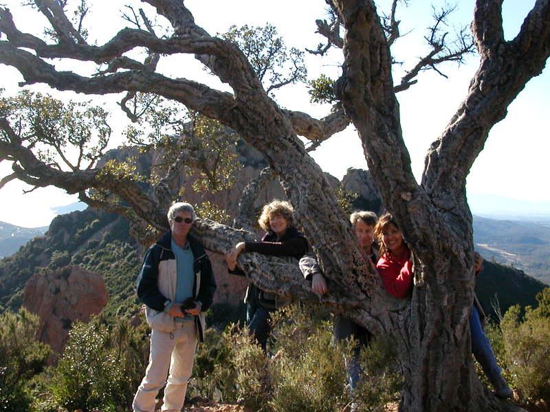 Michel, Christiane, Dave, et moi