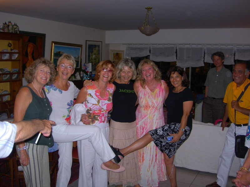 A small subset of the International Women of the Riviera