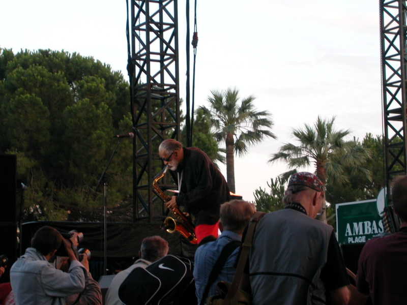 Sonny Rollins at Jazz-à-Juan in 2004